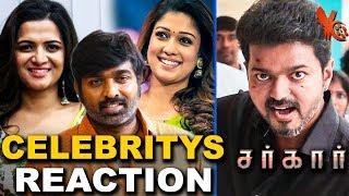 Vijay Sethupathi, Nayanthara And More Celebrities About Sarkar Teaser | Thalapathy Vijay | DD