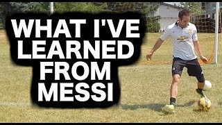 How to dribble like Lionel Messi | Messi dribbling skills tutorial | Lionel messi dribbles explained