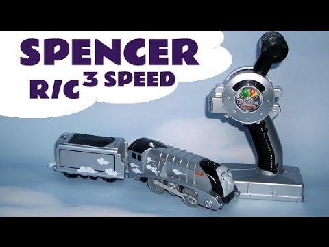 3 SPEED REMOTE CONTROL SPENCER by Trackmaster R C Thomas The Train Kids Toy Thomas The Tank Engine