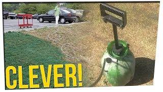 Man PAINTS His Lawn to Circumvent City Code Enforcement ft. Nikki Limo & Steve Greene