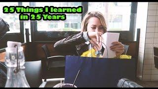 Cammie Scott | 25 Cosas que Aprendí en 25 Años (subtitulado)