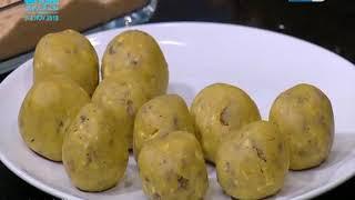 لقمة هنية | الحلقة كاملة | كرات البطاطش بحشو الجبن -  مكرونة بصوص السبانخ - تبولة