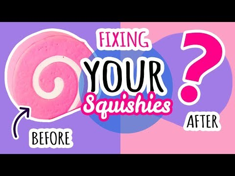 Squishy Makeover Fixing Your Squishies 8