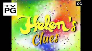 Helen's Clues: All about our mouths (another episode on Noggin 4Kids TV part 1)