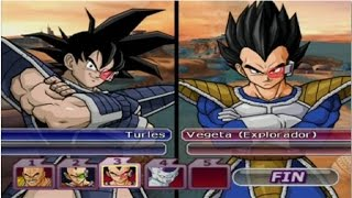 DBZ Budokai Tenkaichi 3 - Turles VS Nappa, Raditz, Vegeta & Freezer (Epic Fight)