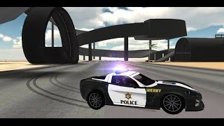 juego de carro policia para niños, juegos de autos, videos para niños