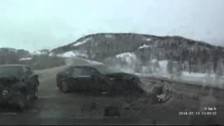 Dash Cam Crash - Drivers are Okay