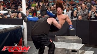 AJ Styles vs. Kevin Owens - Money in the Bank Qualifier: Raw, May 23, 2016