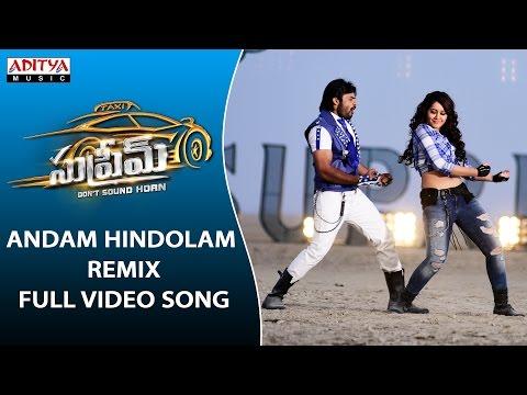 Xxx Mp4 Andam Hindolam Remix Full Video Song Supreme Full Video Songs Sai Dharam Tej Raashi Khanna 3gp Sex