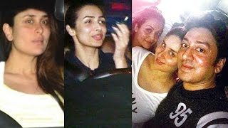 Pregnant Kareena Kapoor Party With Malaika Arora Khan And Amrita Arora