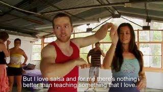 Learn Salsa in Cali, Colombia with the Dancing Irishman (Tiempo Real, Telepacifco)