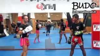 Kaopon Lek - Tecniche di Muay Thai - Tip (MI ott.2012)
