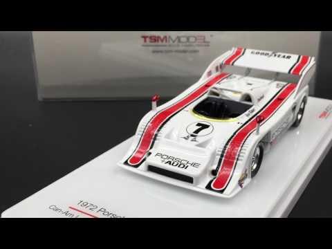 TSM-Model - Porsche 917-10 TC L&M #7 1972 CanAm L.A. GP Winner resin scale 1:18 (TSM144347)