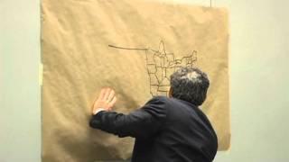 Al Franken draws U.S. map for Middle Schoolers [Original]