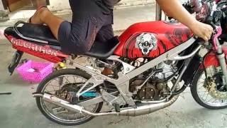 #Ninja R Crimpie Stainless Knalpot Manado