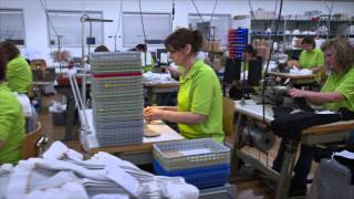 Manufacturing of covered yarns and medical compression stockings