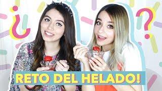 Ice Cream Challenge / Reto del Helado - Taste Test | Cecie