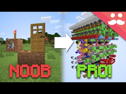 How to go From NOOB to PRO at Minecraft Redstone