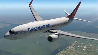 X-plane 11 - TURBULENCE LEVELS