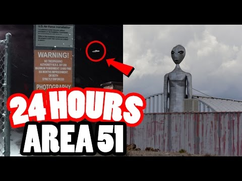 MILITARY 24 HOUR CHALLENGE IN AREA 51 SNEAKING INTO AREA 51 THE TOP SECRET MILITARY BASE