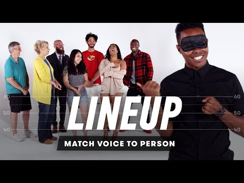 Match Voice to Person Lineup Cut