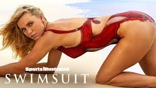 Caroline Wozniacki & Lindsey Vonn Go Bare In Nothing But Body Paint   Sports Illustrated Swimsuit