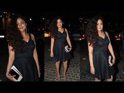 Sheela Kaur Hot In Black Dress At Red Carpet 65th Jio Filmfare South Awards 2018