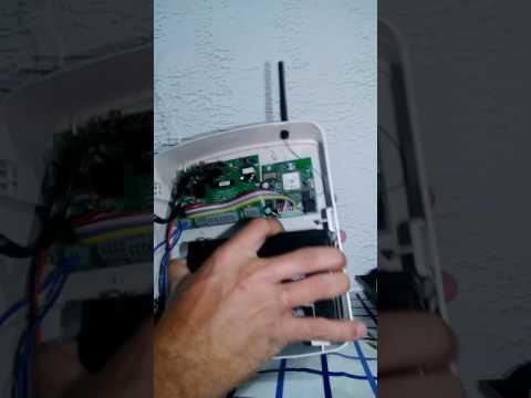 Ligando central de alarme ECP Max 1,Max4,Max Cell ,primeiros passos