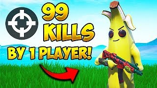 *WORLD RECORD* 99 KILLS BY 1 PLAYER! - Fortnite Funny Fails and WTF Moments! #501