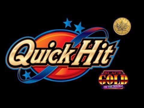 First Attempt: Quick Hits Action Bank Gold on Double - Nice bonus - Slot Machine Bonus