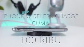 Dengan 100Ribu aja iPhone bisa Wireless Charging?