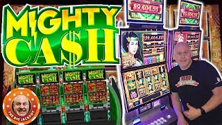 SO MANY FREE GAMES! 💸Mighty Cash Bonus Feature JACKPOT! 💸| The Big Jackpot