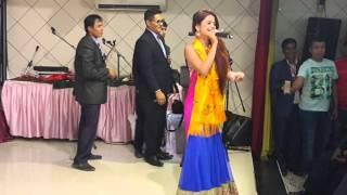 kalpana kafla live performance parbat welfare society Qatar  programme 2016