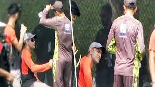 Asia Cup: Shoaib Malik and Dhoni share a light moment