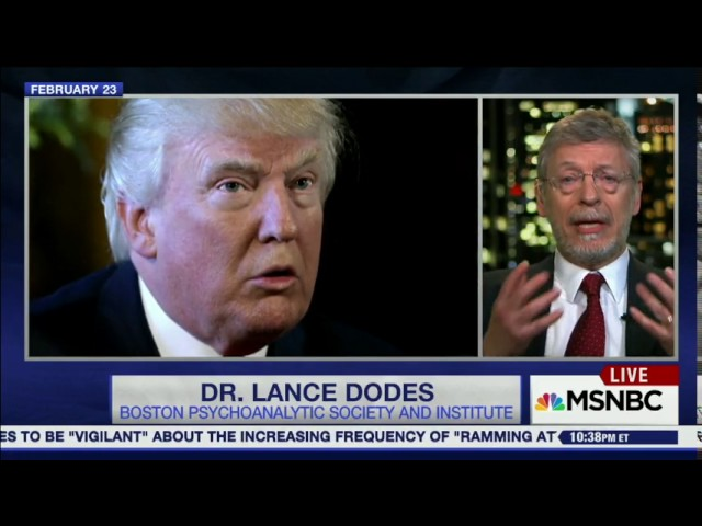 Trump has a dangerous disability - George F. Will interview MSNBC