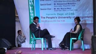 The peoples university of Bangladesh (PUB) CSE Depertment Festival-2016