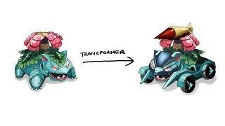 Venusaur - Pokemon Characters As Transformer #5.