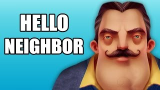 MY NEIGHBOR IS CRAZY! | Hello Neighbor (Ending)