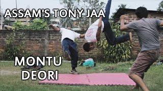 Assam's Tony Jaa - Montu Deori - Fighting 4 Guys