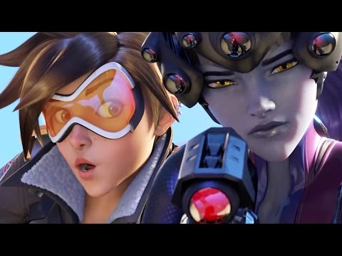 Xxx Mp4 Overwatch All Cutscenes Movie All Animated Cinematic Trailers FULL STORY Movie 3gp Sex