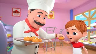Hot Cross Buns   Kindergarten Nursery Rhymes for Children   Cartoons for Kids by Little Treehouse