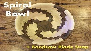 Spiral Segmented Bowl