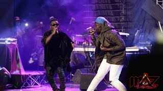 Sarkodie performs 'Trumpet' for the first time @ Rapperholic concert '16 | GhanaMusic.com Video