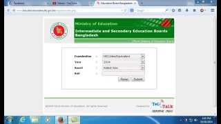 JSC SSC HSC result Educationboardresults view result in bangladesh for jsc ssc and hsc