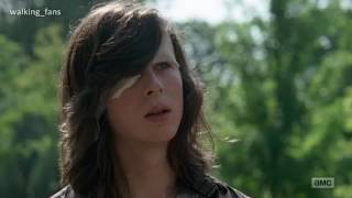 Carl  y Enid |Let her go|The walking dead (amv) Tributo  walking_fans