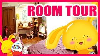 Room tour - Chambre de deux petites filles - Jouets pour les enfants - Touni Toys