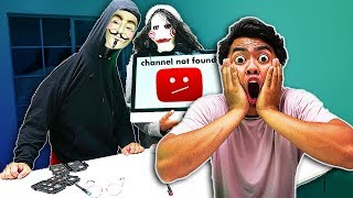 HACKERS are trying to delete my CHANNEL!