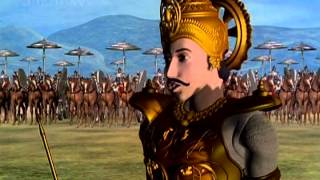 Favourite Kids Animated Movie - Pandavas The Five Warriors - Part 8 Of 9