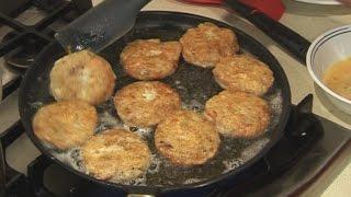""" POTATO & CHICKEN KEBABS "" Bajias Cooking"