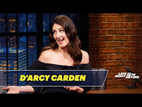 D Arcy Carden Worked as a Nanny for Bill Hader